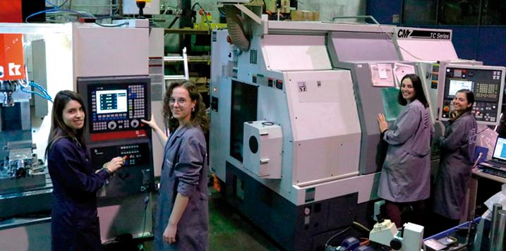El curso de especialización en Máquina Herramienta y tecnologías aeronáuticas: una luz para las vocaciones STEM