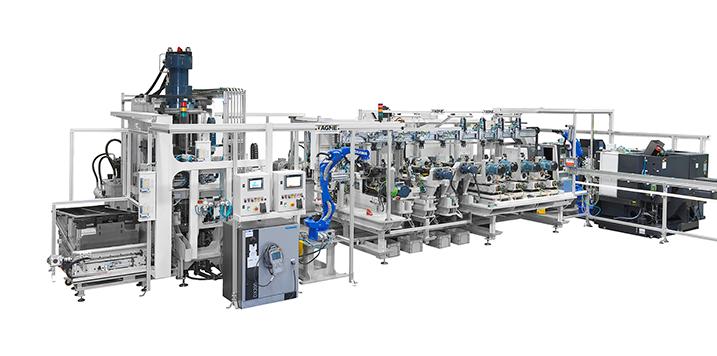 AGME fabrica máquinas especiales para el ensamblaje automático de componentes cuyo destino es Europa, Asia y América