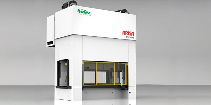 ARISA GS2 Series: productividad y flexibilidad con configuraciones standard