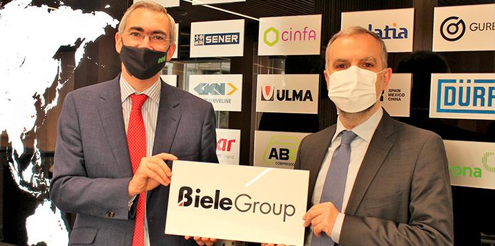 BIELE GROUP firma la ampliación del acuerdo de colaboración con Tecnun Universidad de Navarra