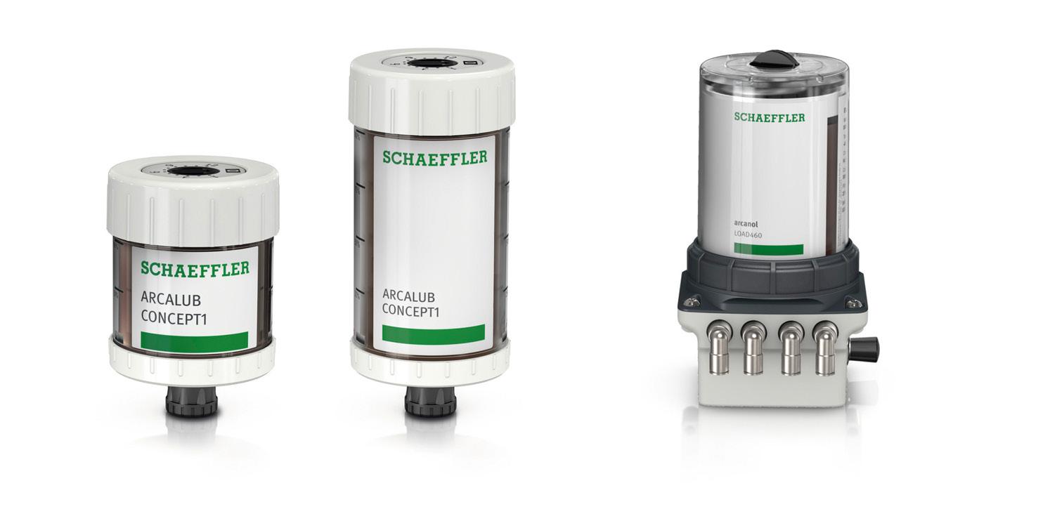Schaeffler incorpora CONCEPT1 y CONCEPT4 a su gama de lubricadores