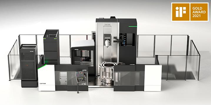 CORREA recibe el iF Design Gold Award por el diseño innovador de su nueva fresadora AXIA