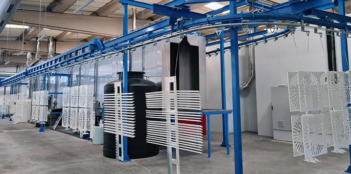 GEINSA suministra una instalación de tratamiento de superficies para el especialista de ventilación, Schako