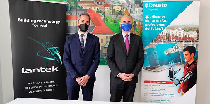 La Universidad de Deusto incorpora a LANTEK a su cátedra de Industria Digital