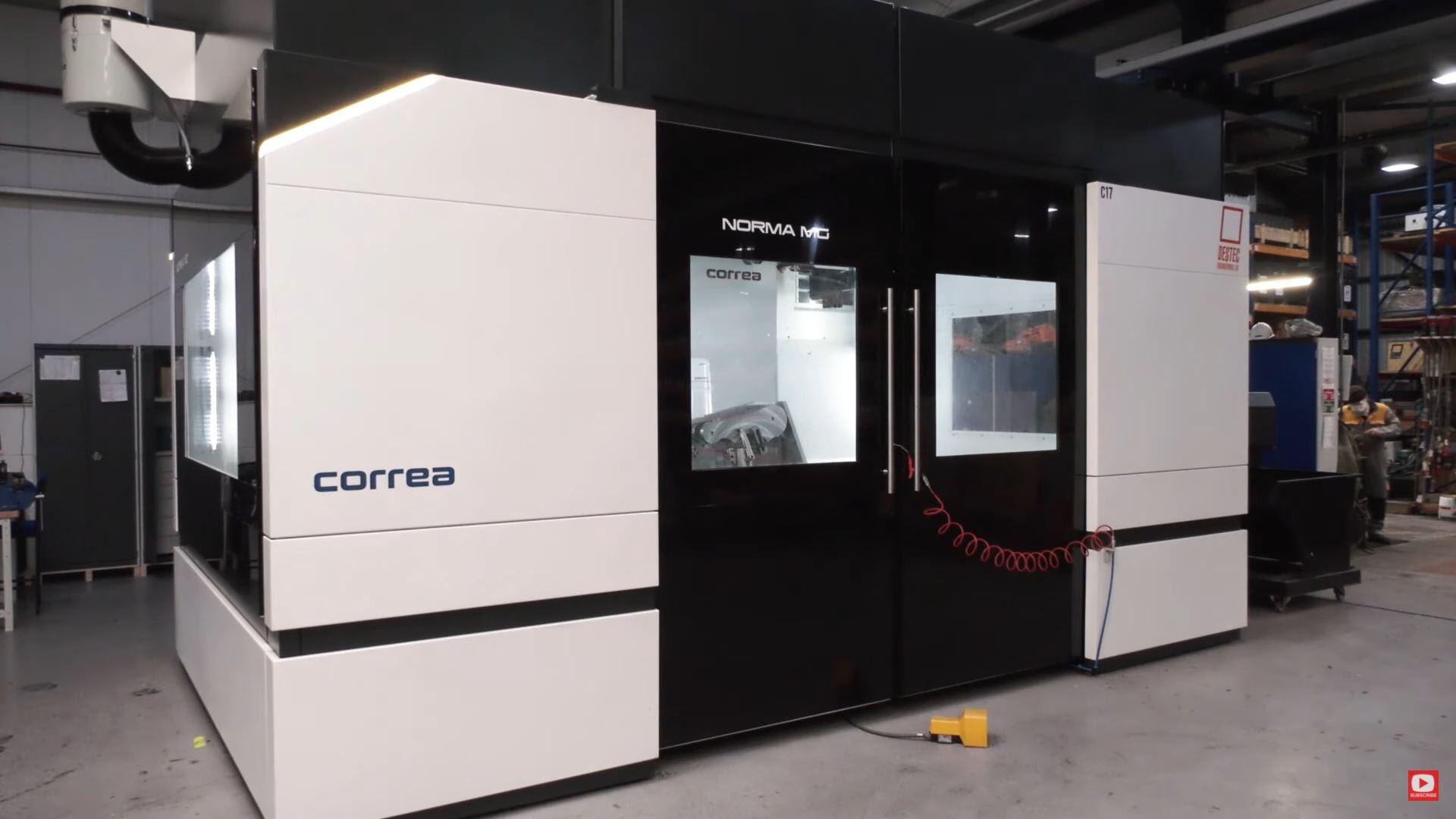 Destec Engineering adquiere la fresadora NORMA MG de CORREA por su alta flexibilidad