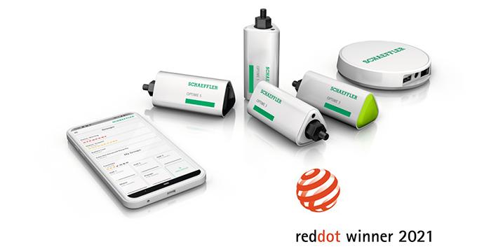 SCHAEFFLER recibe el premio ·Red Dot Design Award· en dos categorías con OPTIME