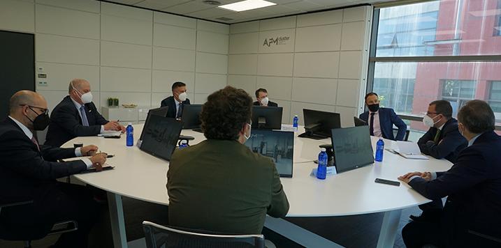 El secretario general de industria y de la PYME, Raül Blanco visita AFM