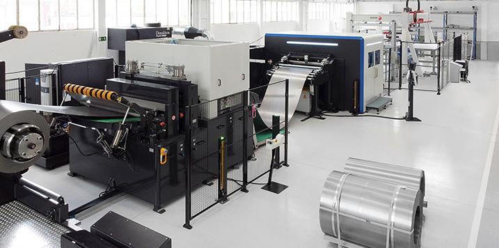DANOBATGROUP y FAGOR ARRASATE desarrollan una línea de corte de chapa con tecnología Láser Blanking
