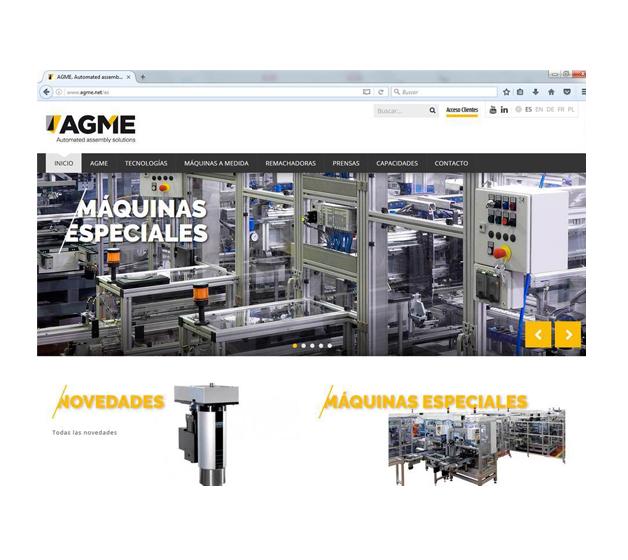AGME estrena su nueva web en línea con su nueva identidad corporativa