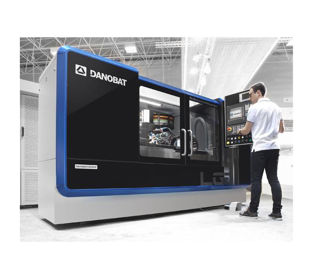 Nueva rectificadora cilíndrica DANOBAT LG- 1000