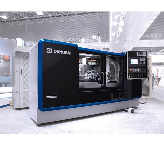Presentada la rectificadora DANOBAT LG-1000 en la feria INTEC