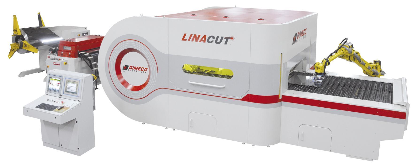 """Dimeco presenta en la BIEMH su nuevo desarrollo de corte láser en bobina """"Linacut®"""" - Hall 5, stand E11"""