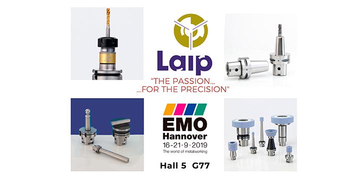 LAIP presenta en EMO sus últimas innovaciones en portaherramientas