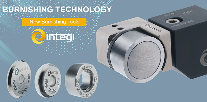 INTEGI presents at EMO MILANO fair its new models of roller burnishing tools to work on all types of lathes (Hall 2, Booth F41)
