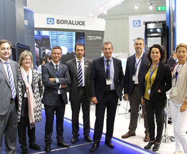 Gran despliegue de la industria española de máquinas-herramienta en la EMO de Milán