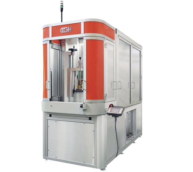 Nueva familia de máquinas verticales para aplicaciones de inducción TVK, de GH