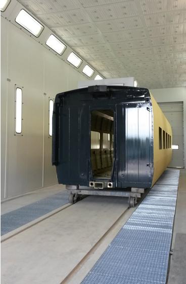 GEINSA incorpora una tecnología de iluminación más eficiente en sus cabinas de pintura