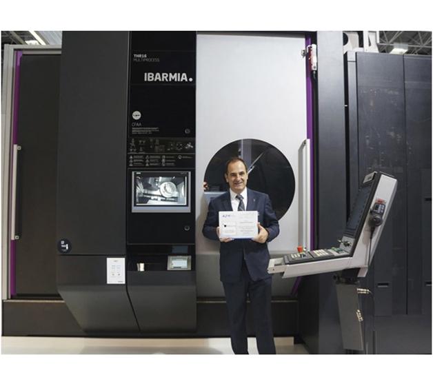 IBARMIA, galardonada con el Premio Nacional de Innovación en la 29 BIEMH de Bilbao