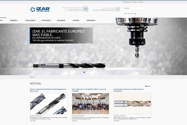 IZAR lanza su nueva web
