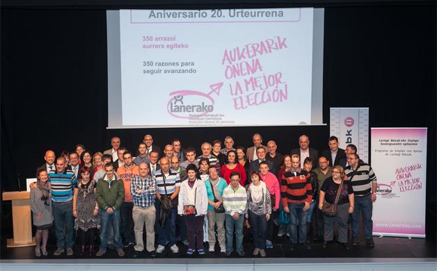 IZAR en el 20 aniversario de Lanerako