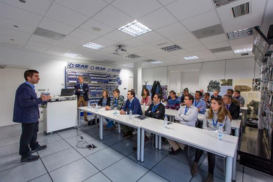 IZAR anfitrión del encuentro Top Empresas de CEBEK