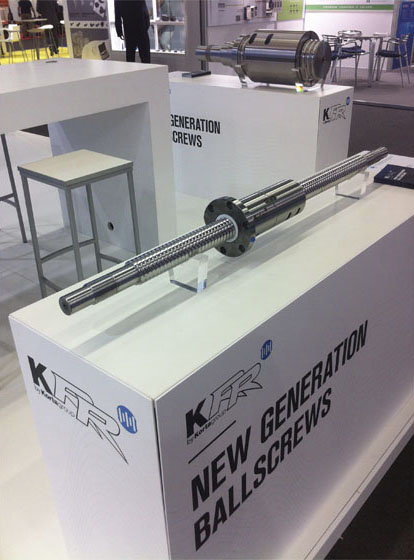 Una nueva generación de husillos KORTA en la EMO de Milán - Hall 11, stand H07