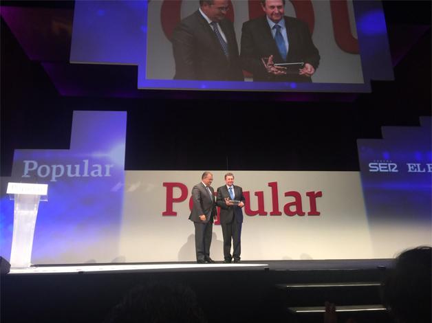 Lazpiur triunfa en los premios 'Somos Empresa' al conseguir el galardón a la PYME de 2015