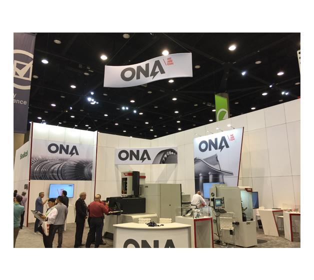 ONA participa en la feria IMTS de Chicago con importantes novedades
