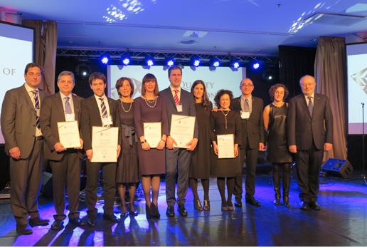 """El Sistema DAS de SORALUCE galardonado con el premio """"Quality Innovation of the year"""""""