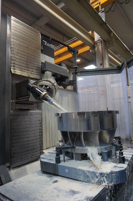 Zayer finaliza la instalación del centro de mecanizado de bancada fija y mesa giratoria XIOS G, en Talleres Gara