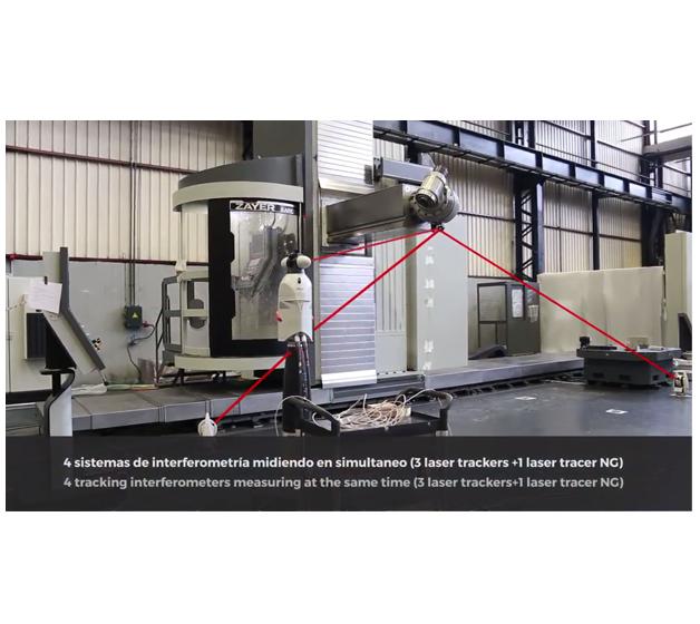 ZAYER presenta una novedosa técnica de verificación de la precisión volumétrica de la máquina herramienta