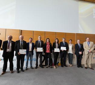 La entrega de premios, colofón del 20 Congreso de Máquinas-herramienta