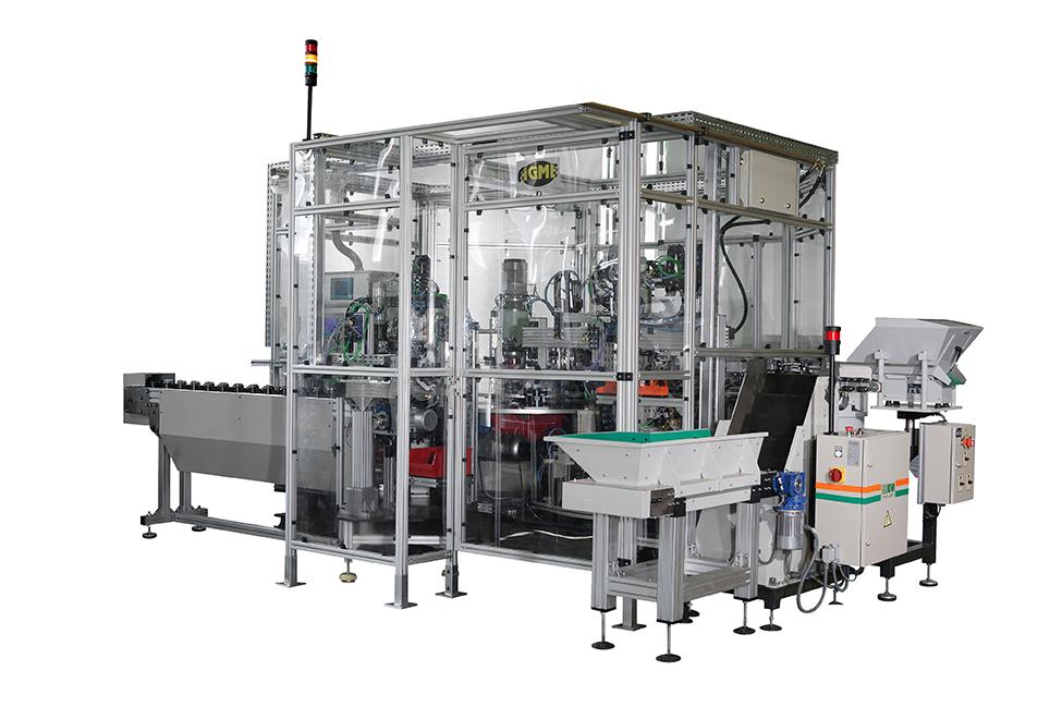 Special assembly machines/lines AGME SPECIAL TRANSFER MACHINE FOR ASSEMBLING BALL JOINTS