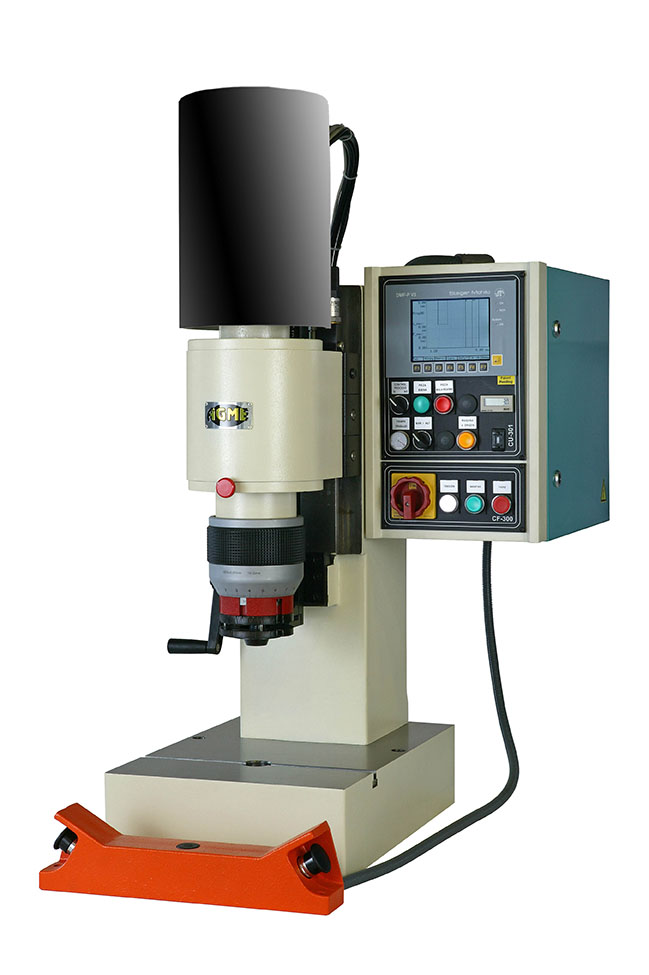 Riveting machines AGME Riveting with AC process control