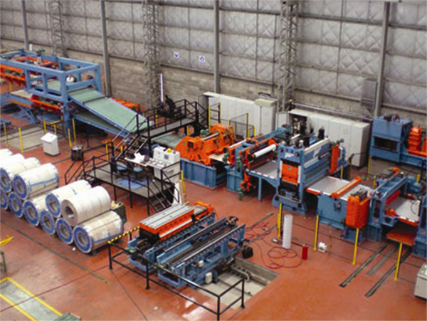 Lines for processing sheet (folding, automatic loading and unloading, etc) ATHADER1
