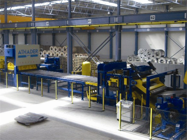 Lines for processing sheet (folding, automatic loading and unloading, etc) ATHADER2