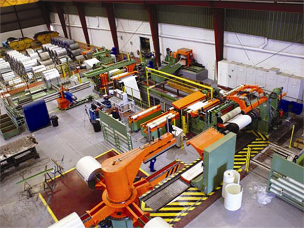 Lines for processing sheet (folding, automatic loading and unloading, etc) ATHADER4