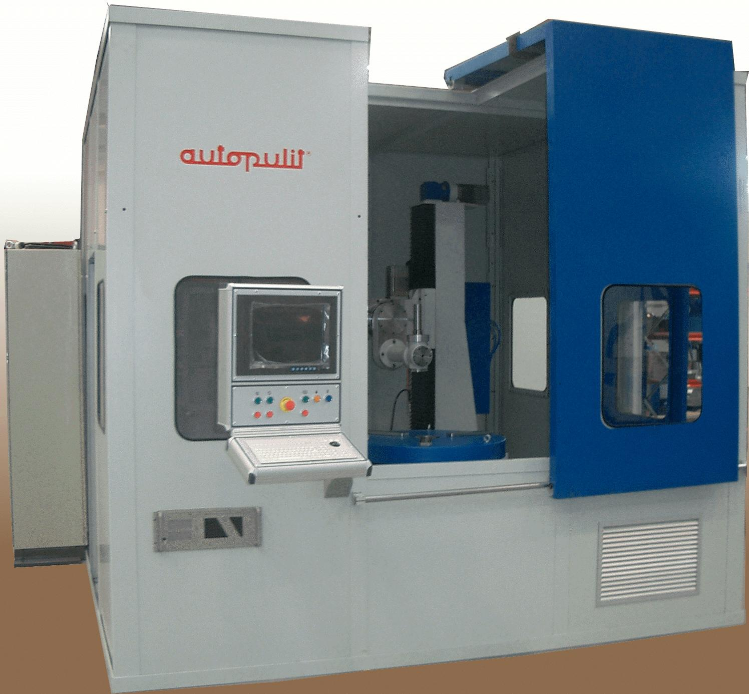 Automatic polishing machines, abrasive belts AUTOPULIT_AERO_HP-1/1UT-CNC