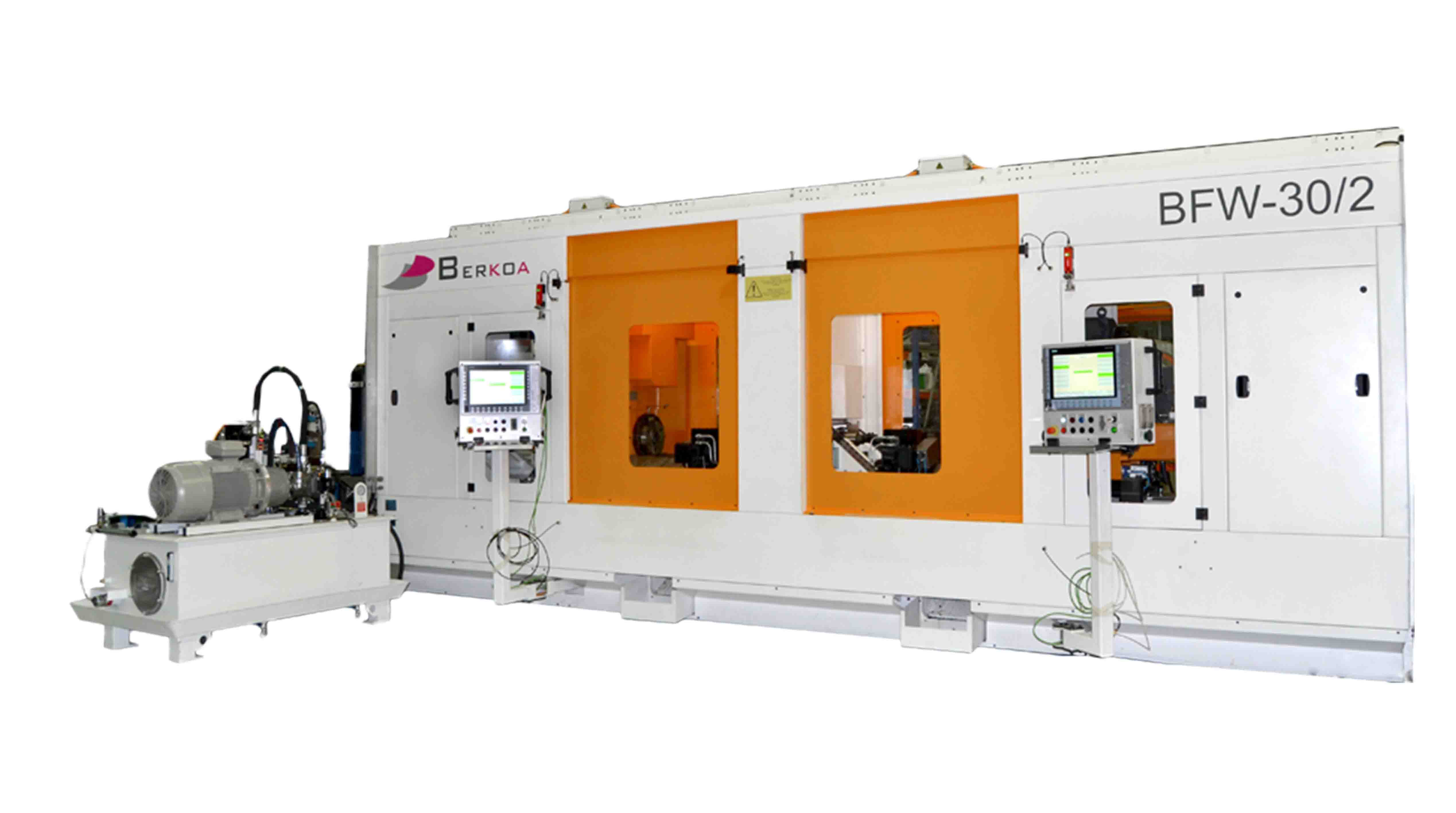 Horizontal lathes BWF-30 Friction spin welding machine with two stations