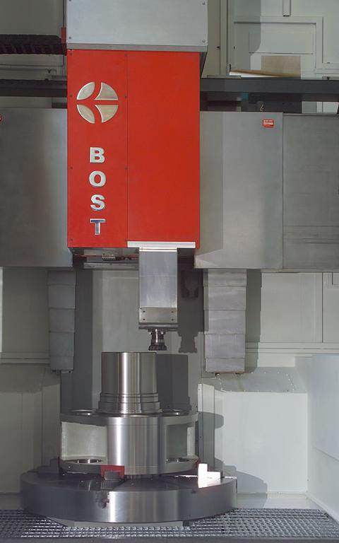 Vertical lathes VERTICAL TURNING AND MILLING MACHINE BOST VTL C