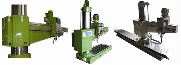 Radial drilling machines FORADIA_01