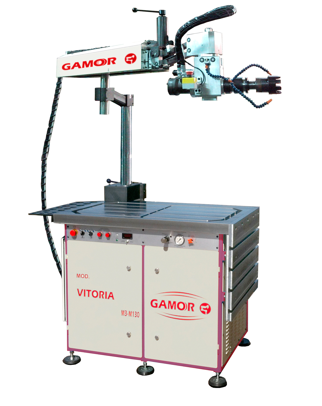 Interior tapping machines HYDRAULIC TAPPING MACHINE GAMOR