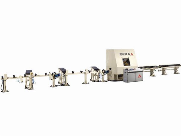 Punzonadoras para barras, perfiles y tubos GEKA16