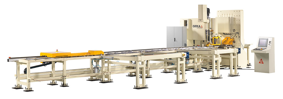 Alfa 500, CNC line for processing flat bars