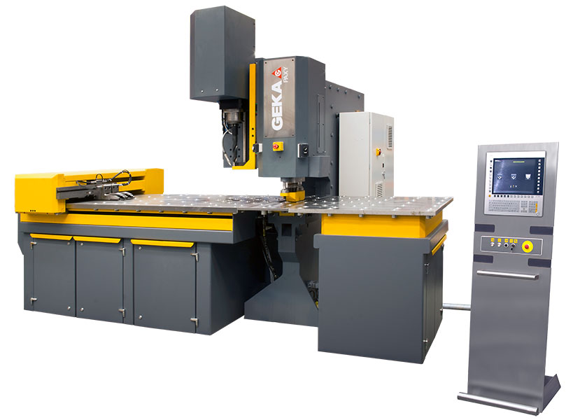 Paxy 1000, 1500 and 2000, CNC line for steel plates
