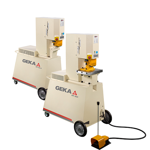 Punching PP Series, GEKA soution of portable ironworkers