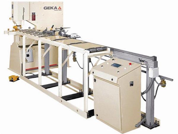 Punzonadoras para barras, perfiles y tubos GEKA18