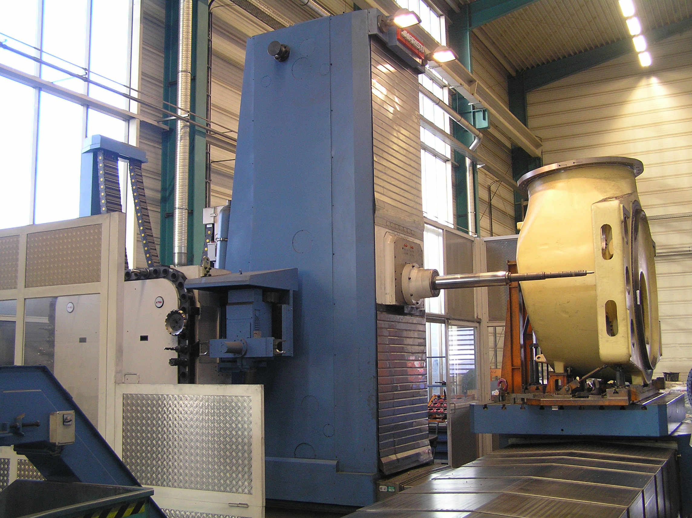 Precision table type boring and milling machines BORING-MILLING CENTRE JUARISTI TS3-TS5
