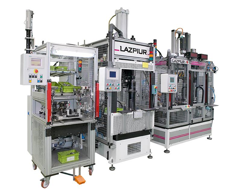 Special assembly machines/lines LAZPIUR NIQUEL PASTE DOSING MACHINE FOR EXCHANGERS