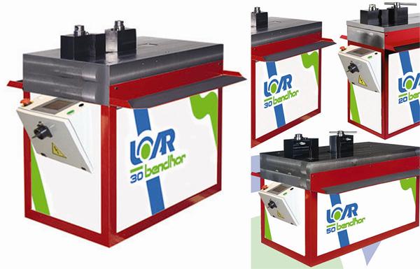 Curvadoras para barras, perfiles y tubos LOAR02